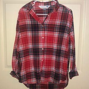 Semi High Low Flannel